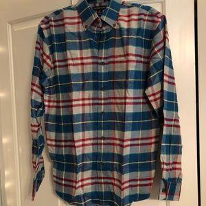 Lands' End Men's Button Up Flannel